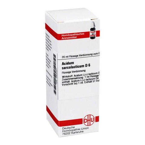 ACIDUM SARCOLACTICUM D 6 Dilution 20 Milliliter N1