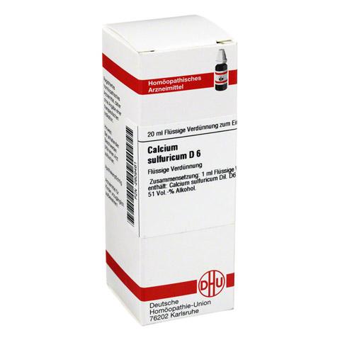 CALCIUM SULFURICUM D 6 Dilution 20 Milliliter N1