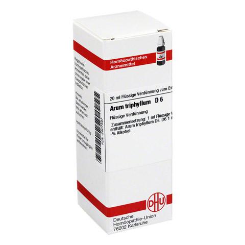 ARUM TRIPHYLLUM D 6 Dilution 20 Milliliter N1