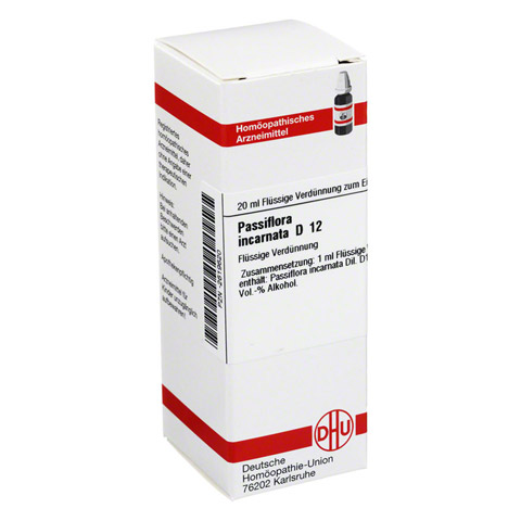 PASSIFLORA INCARNATA D 12 Dilution 20 Milliliter N1