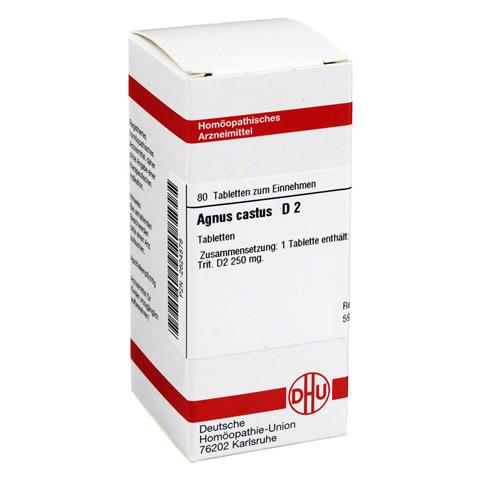 AGNUS CASTUS D 2 Tabletten 80 Stück N1