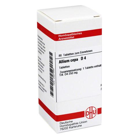 ALLIUM CEPA D 4 Tabletten 80 Stück N1