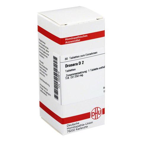 DROSERA D 2 Tabletten 80 Stück N1