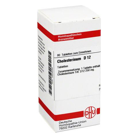 CHOLESTERINUM D 12 Tabletten 80 Stück N1