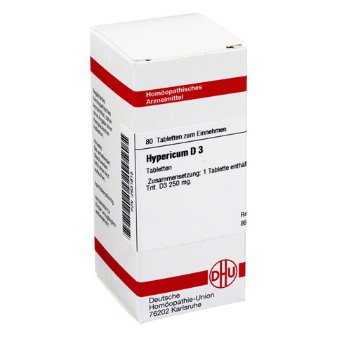 HYPERICUM D 3 Tabletten 80 Stück N1