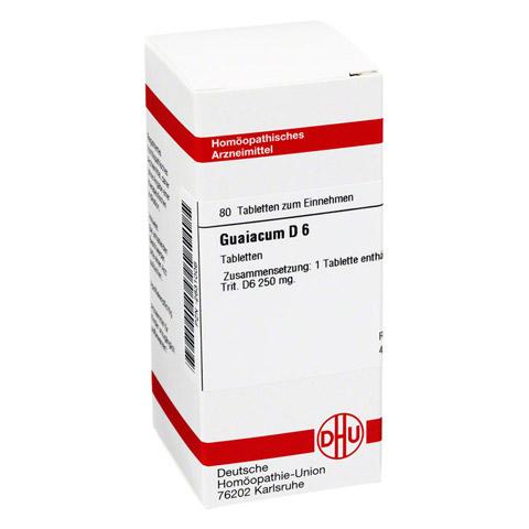 GUAIACUM D 6 Tabletten 80 Stück N1