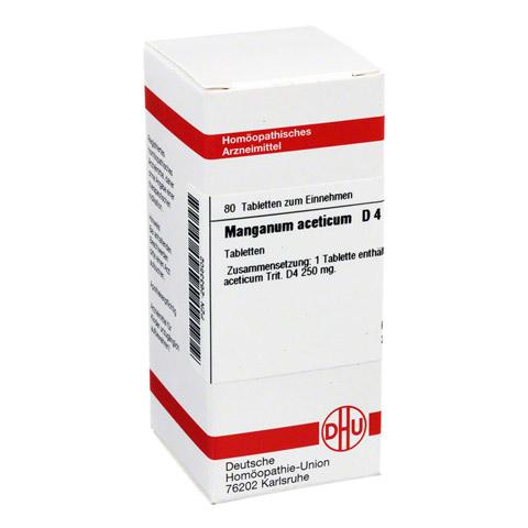 MANGANUM ACETICUM D 4 Tabletten 80 Stück N1