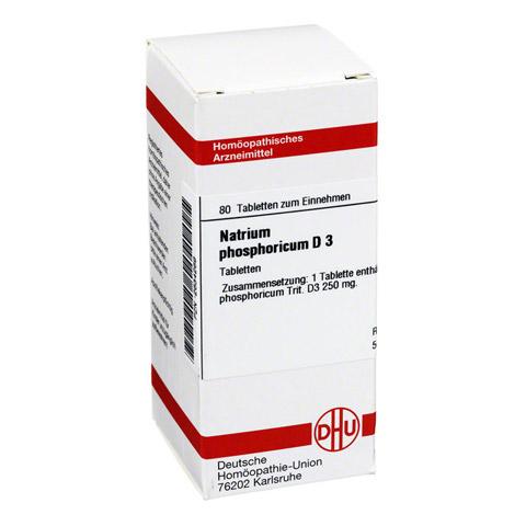 NATRIUM PHOSPHORICUM D 3 Tabletten 80 Stück N1