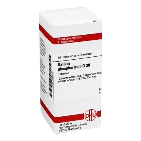 KALIUM PHOSPHORICUM D 30 Tabletten 80 Stück