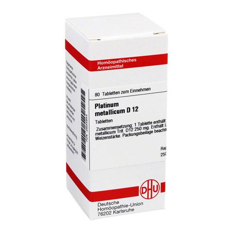PLATINUM METALLICUM D 12 Tabletten 80 Stück N1