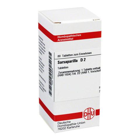 SARSAPARILLA D 2 Tabletten 80 Stück N1