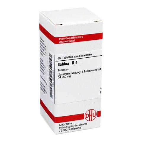 SABINA D 4 Tabletten 80 Stück N1
