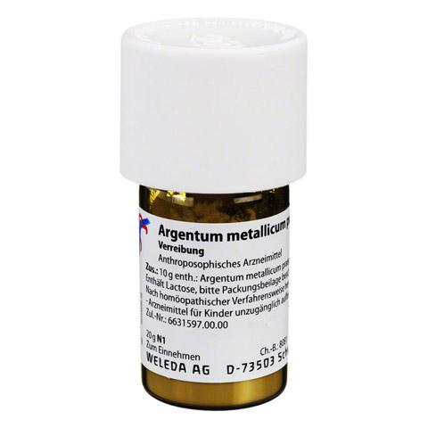 ARGENTUM METALLICUM praeparatum D 20 Trituration 20 Gramm N1