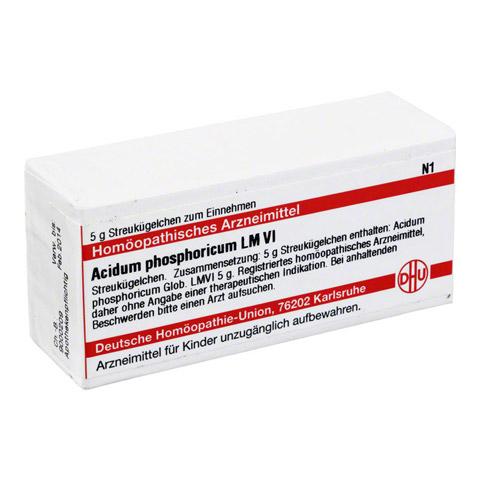 LM ACIDUM phosphoricum VI Globuli 5 Gramm N1