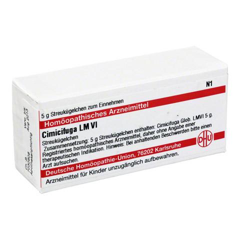 LM CIMICIFUGA VI Globuli 5 Gramm N1
