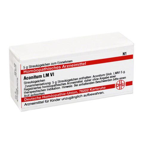 LM ACONITUM VI Globuli 5 Gramm N1