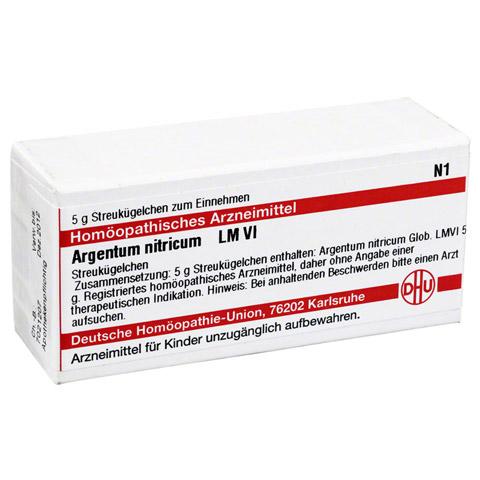 LM ARGENTUM nitricum VI Globuli 5 Gramm N1