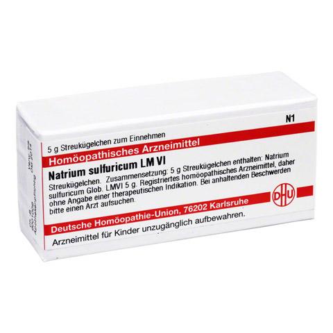 LM NATRIUM sulfuricum VI Globuli 5 Gramm N1