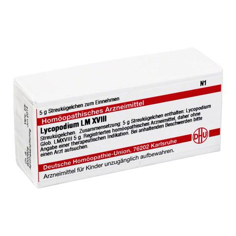 LM LYCOPODIUM XVIII Globuli 5 Gramm N1
