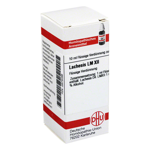 LM LACHESIS XII Dilution 10 Milliliter N1