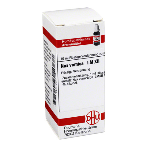 LM NUX vomica XII Dilution 10 Milliliter N1