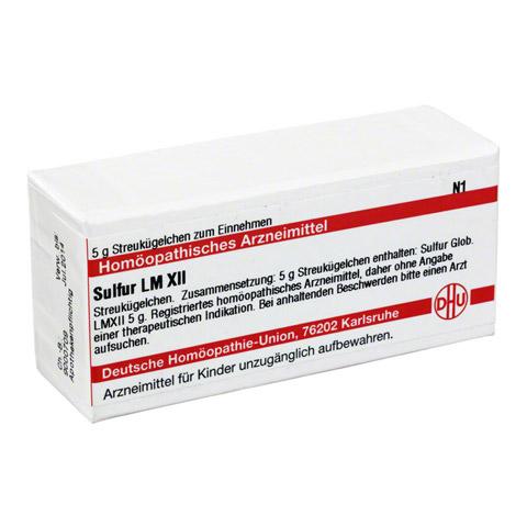 LM SULFUR XII Globuli 5 Gramm N1