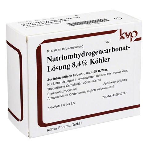 NATRIUM HYDROGENCARBONAT 8,4% 10x20 Milliliter N2