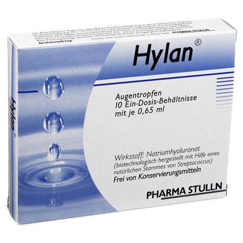 Hylan 0,015% Augentropfen 10 Stück