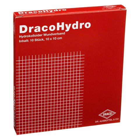 DRACOHYDRO Hydrokoll.Wundauflage 10x10 cm 10 Stück