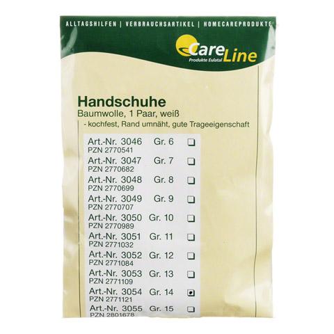 HANDSCHUHE Baumwolle Gr.14 2 Stück