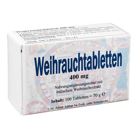 WEIHRAUCH 400 mg Tabletten 100 Stück