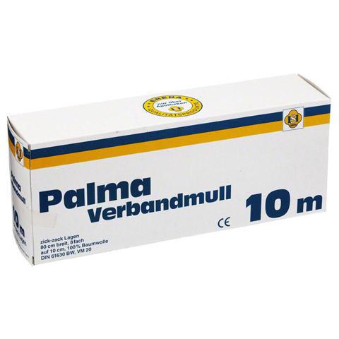 PALMA Verbandmull 80 cm 10 m zickzack Lagen 1 Stück