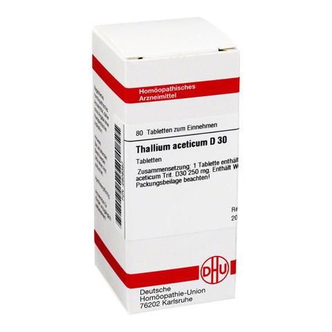 THALLIUM ACETICUM D 30 Tabletten 80 Stück