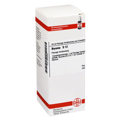 BRYONIA D 12 Dilution 50 Milliliter N1