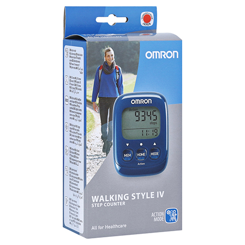 OMRON Schrittzähler HJ-325-EB Walk.Style IV blau 1 Stück