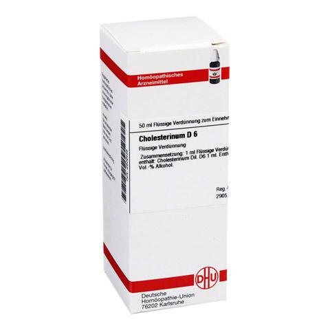 CHOLESTERINUM D 6 Dilution 50 Milliliter N1