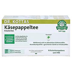 KÄSEPAPPELTEE Dr.KOTTAS Filterbeutel 20 Stück - Rückseite