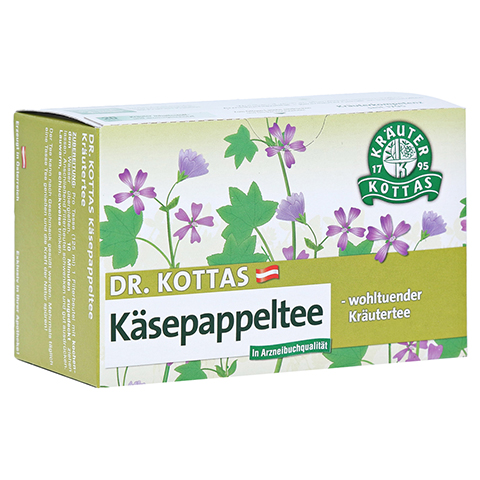 KÄSEPAPPELTEE Dr.KOTTAS Filterbeutel 20 Stück