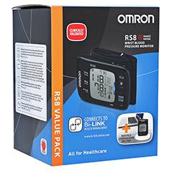 OMRON RS8 Handgelenk BMG m.NFC Auslesemodul 1 Stück