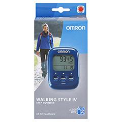 OMRON Schrittzähler HJ-325-EB Walk.Style IV blau 1 Stück - Vorderseite