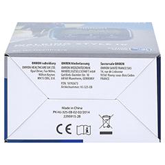 OMRON Schrittzähler HJ-325-EB Walk.Style IV blau 1 Stück - Unterseite