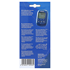 OMRON Schrittzähler HJ-325-EB Walk.Style IV blau 1 Stück - Rückseite