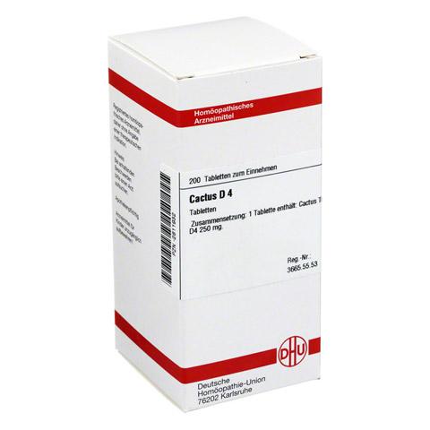 CACTUS D 4 Tabletten 200 Stück N2