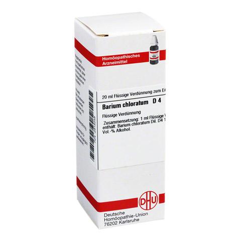 BARIUM CHLORATUM D 4 Dilution 20 Milliliter N1
