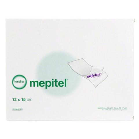 MEPITEL Silikon Netzverband 12x15 cm steril 5 Stück