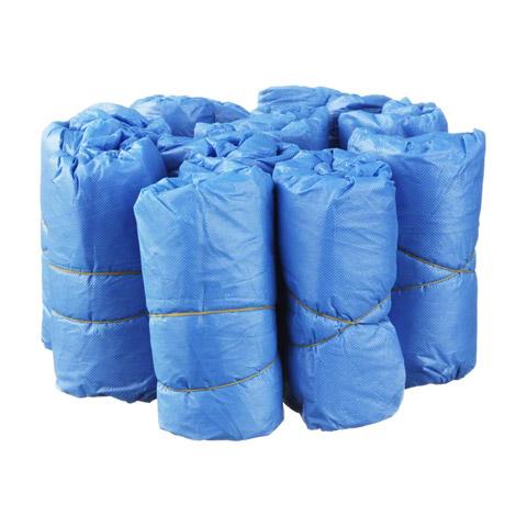 ÜBERSCHUHE Einmal Kunststoff blau 100 Stück