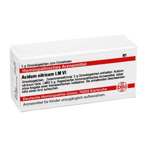 LM ACIDUM nitricum VI Globuli 5 Gramm N1