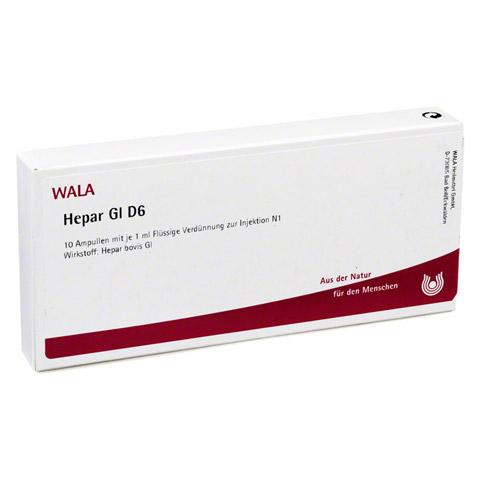 HEPAR GL D 6 Ampullen 10x1 Milliliter N1