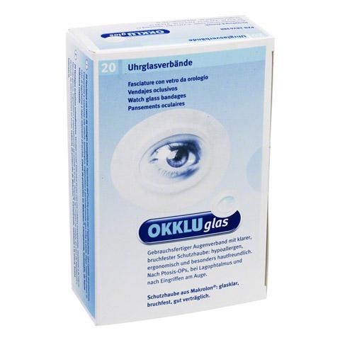 OKKLUGLAS Uhrglasverband 20 Stück
