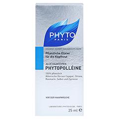 PHYTO PHYTOPOLLEINE Pflan.Kopfhaut Stimulanz Kur 25 Milliliter - Vorderseite
